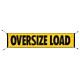 Mesh Oversize Load Sign with Bungees