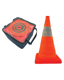 Pack & Pop Collapsible Cones w/ Light