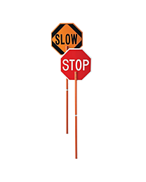 Stop & Slow Paddle Signs