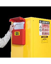 Justrite Document Storage Box