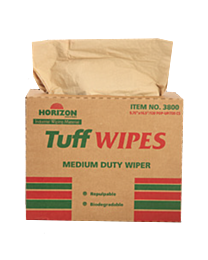 Horizon Industries Tuff Wipes - Brown