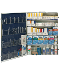 4-Shelf ANSI B+ First Aid Station, 1436-Piece