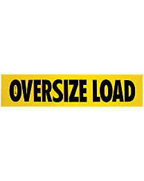 Aluminum Oversize Load Signs 18 Inch x 84 Inch