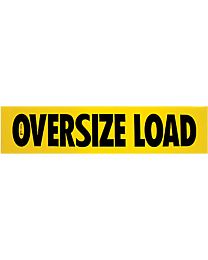 Oversize Load Decal 18 Inch x 84 Inch