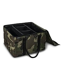 Green Camouflage File Tote