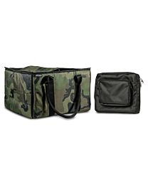 Green Camouflage File Tote with one Tablet Case