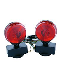 Magnetic Towing Lights with Clamshell