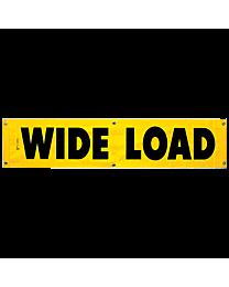 Wide Load Vinyl Banner 18 Inch x 84 Inch