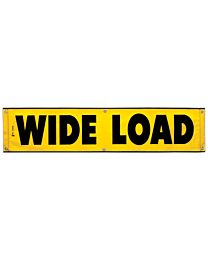 Mesh Wide Load Banner 18 Inch x 84 Inch