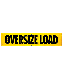 Mesh Oversize Load Banner 18 Inch x 84 Inch