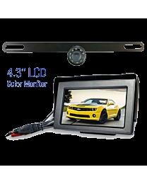 Wireless License Plate Backup Camera