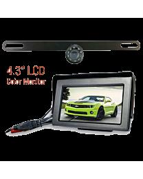 License Plate Backup Camera