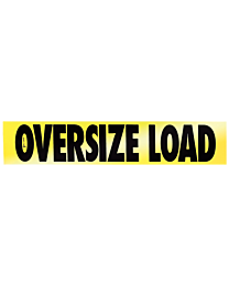 Reflective Aluminum Oversize Load Sign (CO Required) 12 Inch x 60 Inch