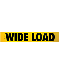 Wide Load Decal 12 Inch x 72 Inch