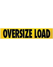 Oversize Load Decal (CO Required) 12 Inch x 60 Inch