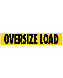 Magnetic Oversize Load Sign