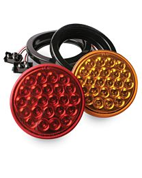 4 Inch Round LED Light with Mirror Finish