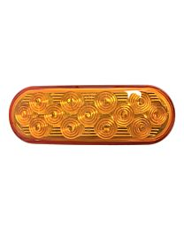 6.5 Inch Amber LED Strobe Light