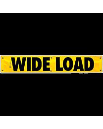 Wide Load Vinyl Banner 12 Inch x 72 Inch