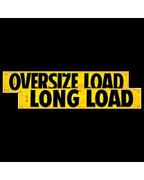 Vinyl Oversize Load/Long Load Banner