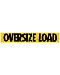 Vinyl Oversize Load Banner (CO Required) 12 Inch x 60 Inch