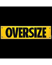 Vinyl Oversize Banner (AK Required) 12 Inch x 48 Inch