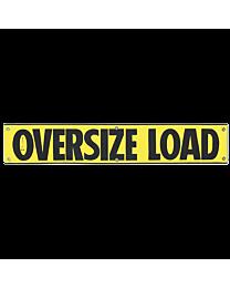 Vinyl High Intensity Reflective Oversize Load Banner 12 Inch x 72 Inch