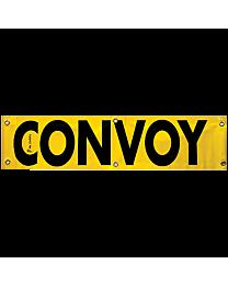 Vinyl Convoy Banner 12 Inch x 48 Inch