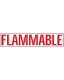 Flammable Decals