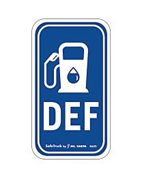 DEF with Gas Pump