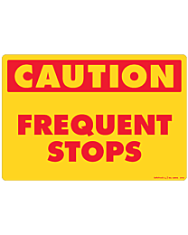 Frequent Stops Decal