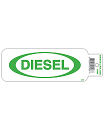 Diesel with Oval Truck Decal