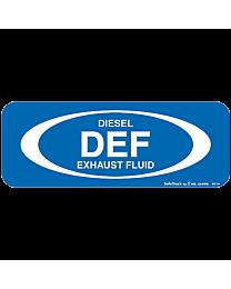 DEF Diesel Exhaust Fluid Decal