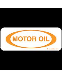 Motor Oil Decal