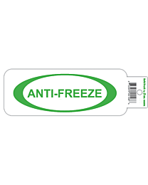 Anti-Freeze with Oval Equipment Decal