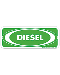Diesel with White Oval Decal