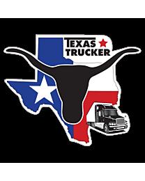Texas Trucker Decal