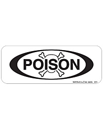 Poison Decal