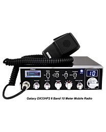 Galaxy DX33HP2 6 Band 10 Meter Mobile Radio