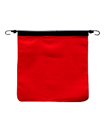 Red Cotton Flag with Bungees
