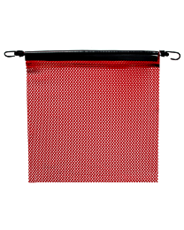 18 Inch Red Jersey Flags with Bungees