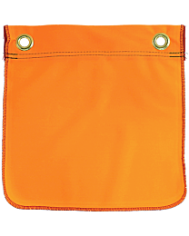 Flo-Orange Flags with Grommets