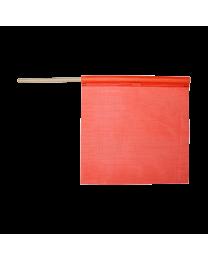 Flo-Orange Mesh Flag