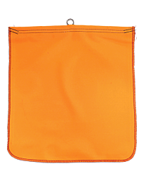 Flo-Orange Flags with Wire