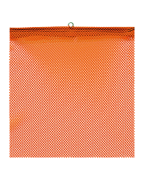 Flo-Orange Jersey Flags with Wire Loop