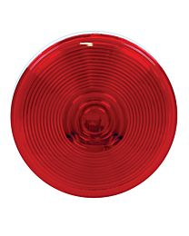 4 Inch Round Red Sealed Stop / Tail / Turn Light