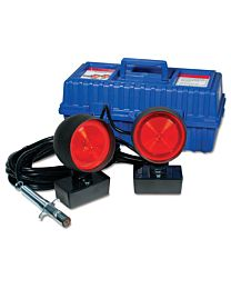 4 Inch HD Suction Cup Tow Lights with Carrying Case