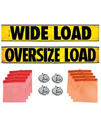 Mesh Banners, Wire Loop Flags and Magnets Kit