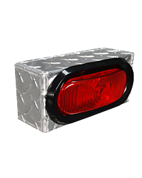 Oval Light Boxes with Diamond Tread