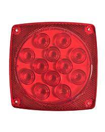 4.75 Inch x 4.75 Inch Trailer Light Replacement Lens